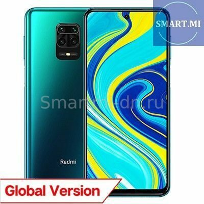 Xiaomi Redmi Note 9S 6/128Gb (Aurora Blue) Global Version