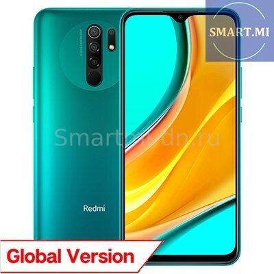 Xiaomi Redmi 9 4/64Gb (Green) Global Version