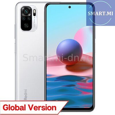 Xiaomi Redmi Note 10 4/128Gb (White) Global Version